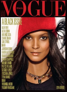 Vogue Italia's Black Issue