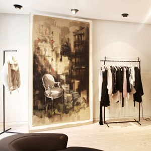 Acne opens for business in London