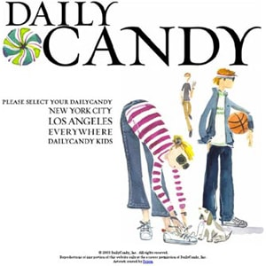 DailyCandy launches subscriber Deals