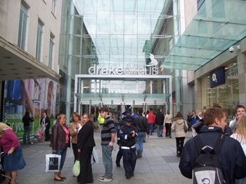 Drake Circus shopping centre developments