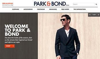 Gilt Groupe launches Park & Bond