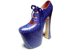 Vivienne Westwood shoes to travel