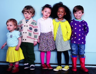 Mothercare launches its latest celebrity range