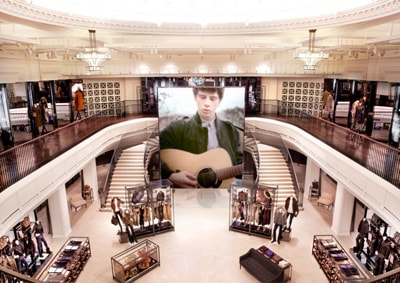 Burberry opens new flagship