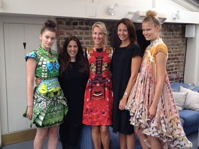 Mary Katrantzou to partner with sponsor