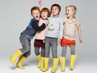 Luxury fashion for children on the rise
