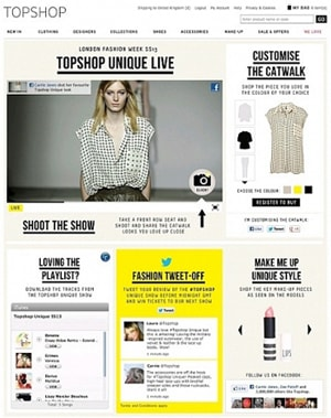 Topshop partners with Facebook ahead of LFW