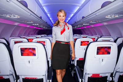Virgin America debuts new Banana Republic uniforms