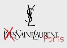 YSL re-branding remains confusing