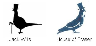 Jack Wills victory over battle of the bird logos