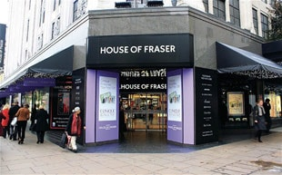 Sanpower acquires House of Fraser for 480 million pounds