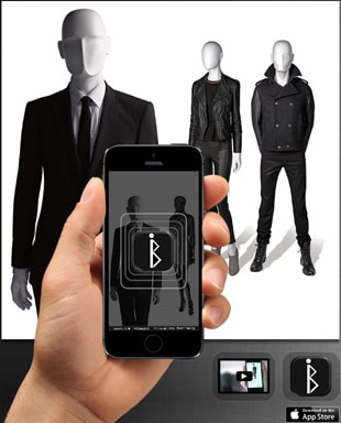 High-tech mannequins 'talk' to shoppers via mobile app