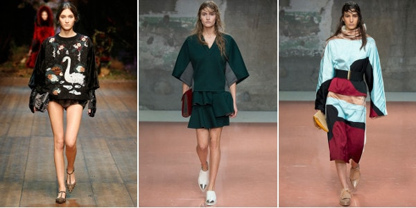 MFW: Top 5 Fashion Week-trends 2014-2015